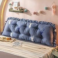 Cuscino Grande Grande Cuscino Posteriore Cuscino Lungo Per Divano Testata Del Letto Rimovibile/Cotone,B-110cm
