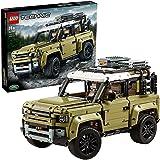 LEGO 42110 Technic Land Rover Defender, Byggsats med Off Road Leksaksbil, Leksak för Barn 11+ år