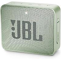 JBL GO 2 Mini Enceinte Portable - Étanche pour Piscine & Plage IPX7 - Autonomie 5hrs - Qualité Audio Bluetooth, Menthe