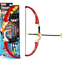 FunBlast Shooting Bow & Arrow Toy - Sports Boy Series Target Shooting Game Bow & Arrow Toys for Boys / Kids (Multicolor)