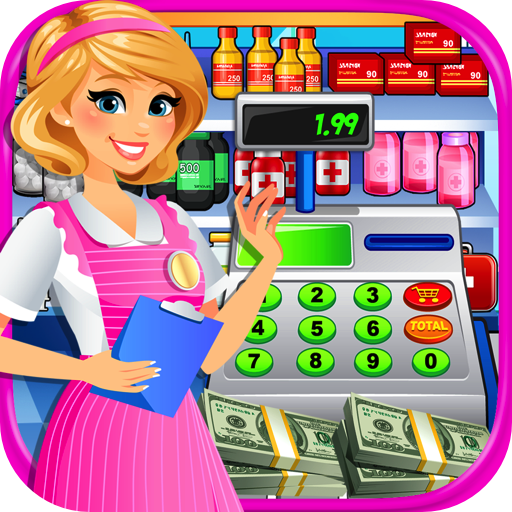 Hospital Cash Register Simulator - Kids Fun Supermarket Games FREE