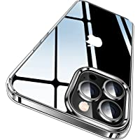 CASEKOO Crystal Clear Kompatibel für iPhone 13 Pro Max Hülle 2021, [Nie Vergilbung] [Unzerstörbarer Militärschutz…
