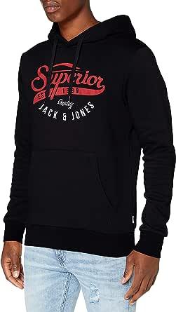 JACK & JONES Men's Hooded Sweatshirt