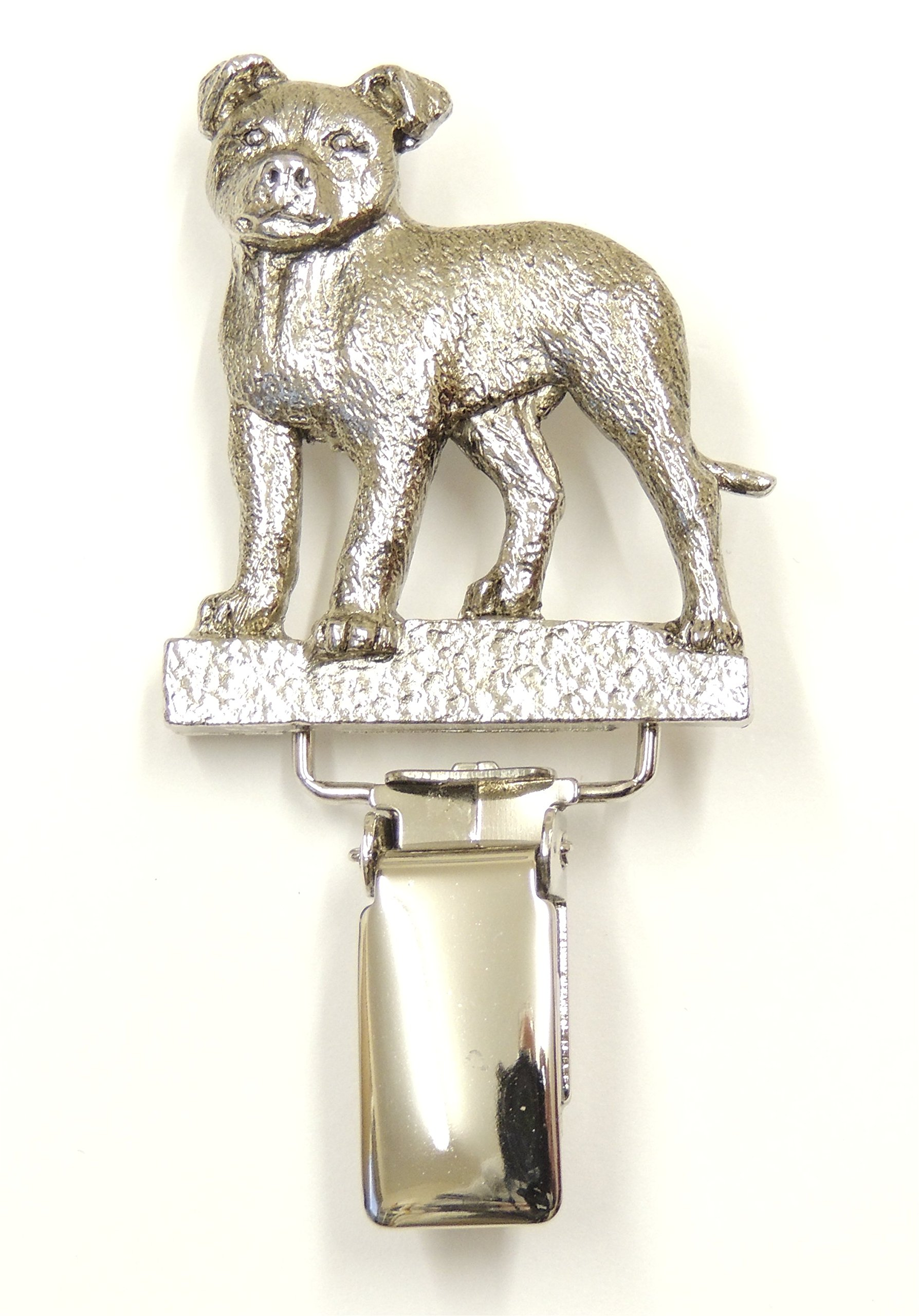 Staffordshire Bull Terrier Dog Show Ring Clip/Number Holder