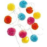Talking Tables BOHO-LIGHT-POM We ♥ Swans Paper Garland, Papier, Multicolores, 12 x 12,5 x 12,5 cm