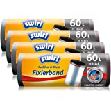 Swirl Fixierband Rubbish Bags, roll of 4, Anthracite