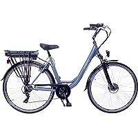 Amigo E-Active - Elektrofahrrad für Damen - E-Bike 28 Zoll - Damenfahrrad mit Shimano 7-Gang- 250W und 13Ah, 36V Li-ion…