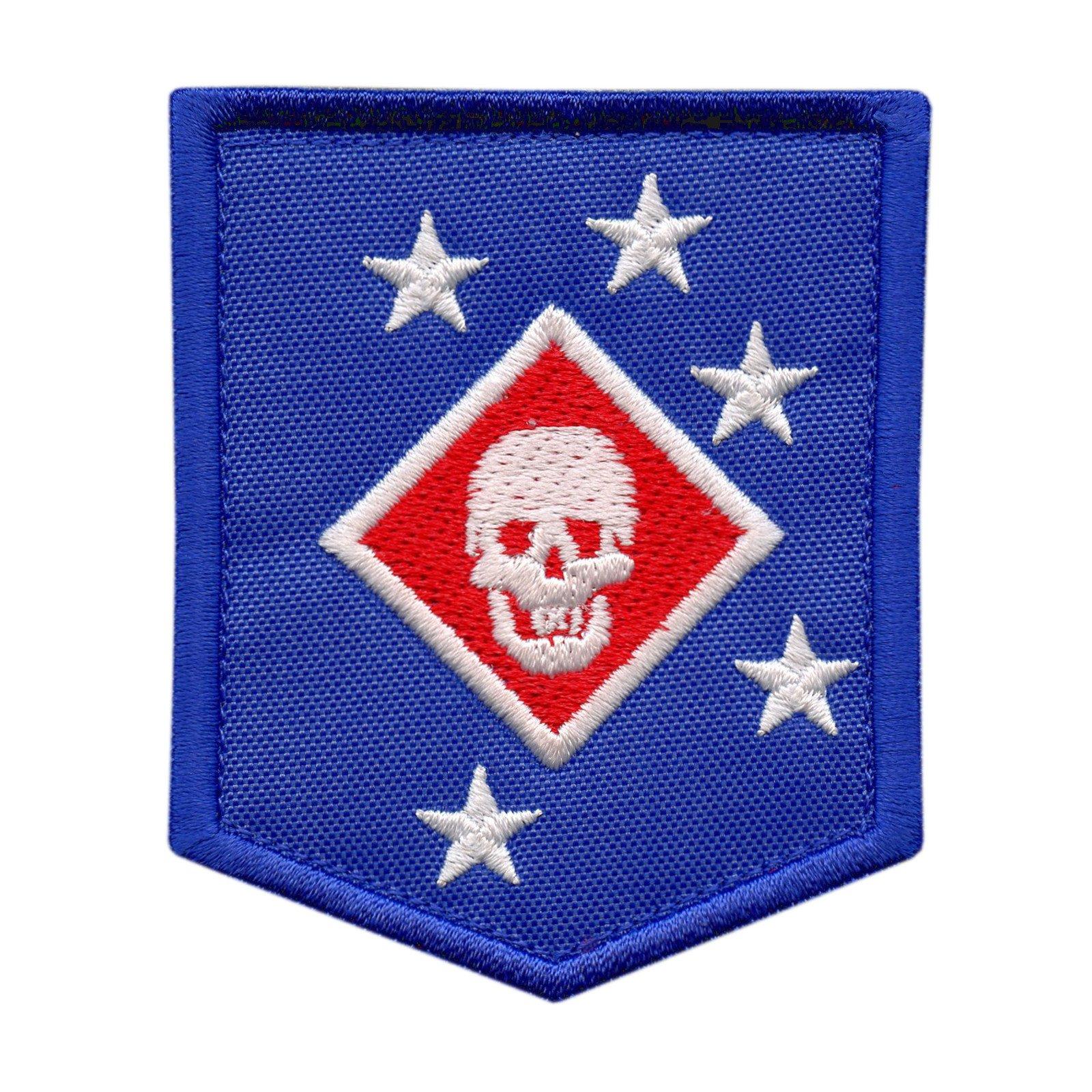 USMC Raiders Marines MARSOC Morale Tactical Ricamata Ricamo Sew Termoadesiva Toppa Patch