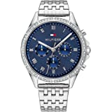 Tommy Hilfiger Women'S Blue Dial Stainless Steel Watch - 1782141
