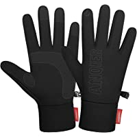 coskefy Winter Thin Thermal Gloves Touchscreen Warm Running Gloves Cycling Gloves Men Women for Walking Riding Bike…