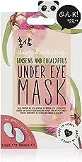 Oh K. Soothing gel Eye Mask–raffreddamento ginseng & eucalipto Under Eye Mask