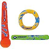 Schildkröt Funsports Schildkröt Neoprene Diving Set (3-teilig, je 1 Ring, Stick, Ball), 970217 Mehrfarbig M
