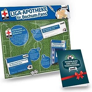 VfL Bochum Mundschutzmaske Mund Nasenbedeckung Skyline Design
