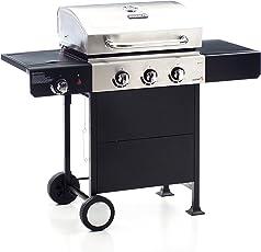 Sochef G31224 Barbecue Gustoso, Nero