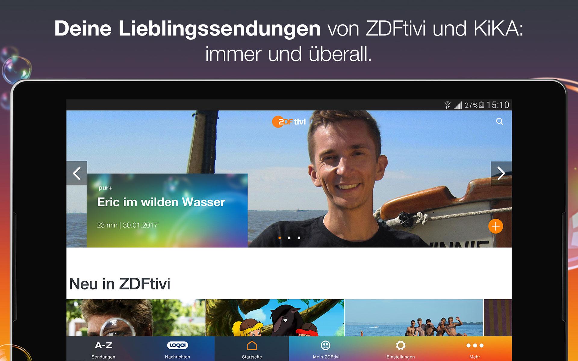 ZDFtivi-App – Videos und Unterhaltung für Kinder - 3
