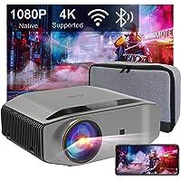 Videoprojecteur Full HD WiFi Bluetooth - Artlii ENERGON 2, 2.4G/5.0G WiFi, Retroprojecteur 1080P natif,Soutiens 4K…