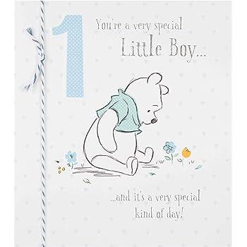 Hallmark Disney Baby 1 Geburtstag Karte Little Boy Medium Amazon