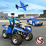nos policía Canal de televisión británico patio bicicleta avión transporte juego