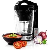 Duronic BL78 Blender chauffant à soupe en verre transparent – Créez vos soupes et gaspachos par simple pression d'une touche
