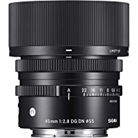 Sigma 45mm f/2.8 DG DN Contemporary Lens for Sony E-Mount Cameras(Black)