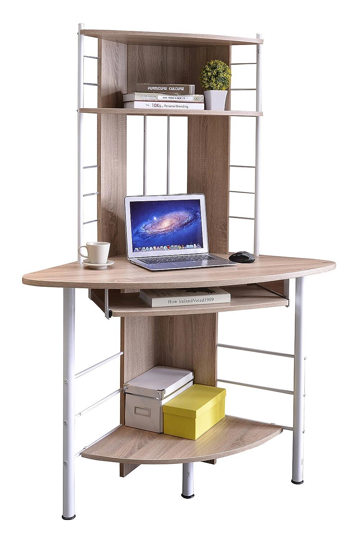 farbe buche - Kompakte Computerschreibtische Fr Zuhause