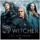 Grupo Erik - Calendario de pared 2021 The Witcher, 30x30 cm, Producto Oficial, CP21110