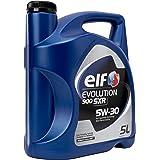 ELF ACELF5W305L 50W30 Huile Moteur, 5L Evolution
