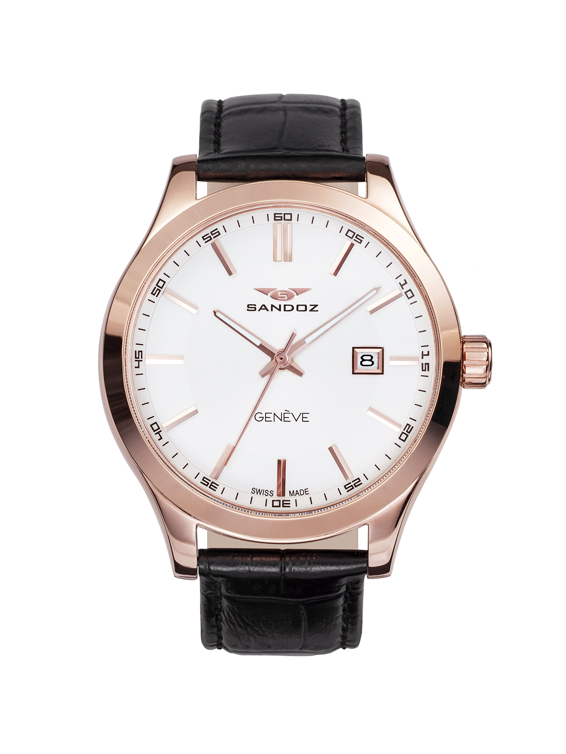 Reloj Suizo Sandoz Caballero 81377-87 Sport Collection