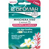 Geomar Maschera Viso Esfoliante Illuminante - Confezione da 2 x 7.5 ml