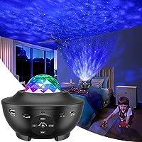LED Sternenhimmel Projektor 10 Sternenhimmel Projektor 360° Drehbarer Sternenhimmel Projektor mit Galaxy Projektor Light…