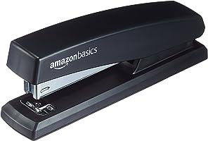 AmazonBasics - Spillatrice con 200 punti metallici - Nero, Confezione da 16