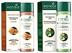 Biotique Bio Honey Gel Refreshing Foaming Face Cleanser, 120ml and Biotique Bio Cucumber Pore Tightening Toner, 120ml