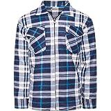 Benk Camisa de trabajo de franela de leñador con forro térmico 05