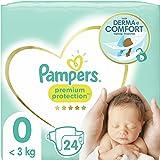 Pampers Premium skydd Windeln månadslåda Månadslåda Größe: 0