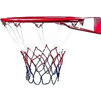 BESTIF Basketballkorb Kinder Indoor und Outdoor   Basketball Korb fürs Zimmer   Ring mit Netz und Befestigungsschrauben…
