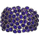 JDX Gold Plated Crystal Bracelet for Women