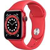 Apple Watch Series 6 (GPS, 40 mm) Caja de aluminio (PRODUCT)RED - Correa deportiva (PRODUCT)RED