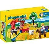 Playmobil 1.2.3. - 6963 - Parc animalier