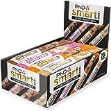 PhD Smart Bar, High Protein Low sugar chocolate coated snack (Variety box), 12 Bars