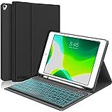 Etui z klawiaturą SENGBIRCH Kompatybilny z iPad 2020 (iPad 8 Gen.) & iPad 2019 (iPad 7 Gen.), podświetlane etui z klawiaturą