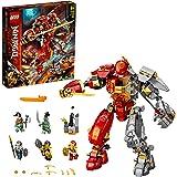 LEGO NINJAGO Vuursteen robot 71720 ninjamecha bouwset met LEGO ninjamecha (968 onderdelen)