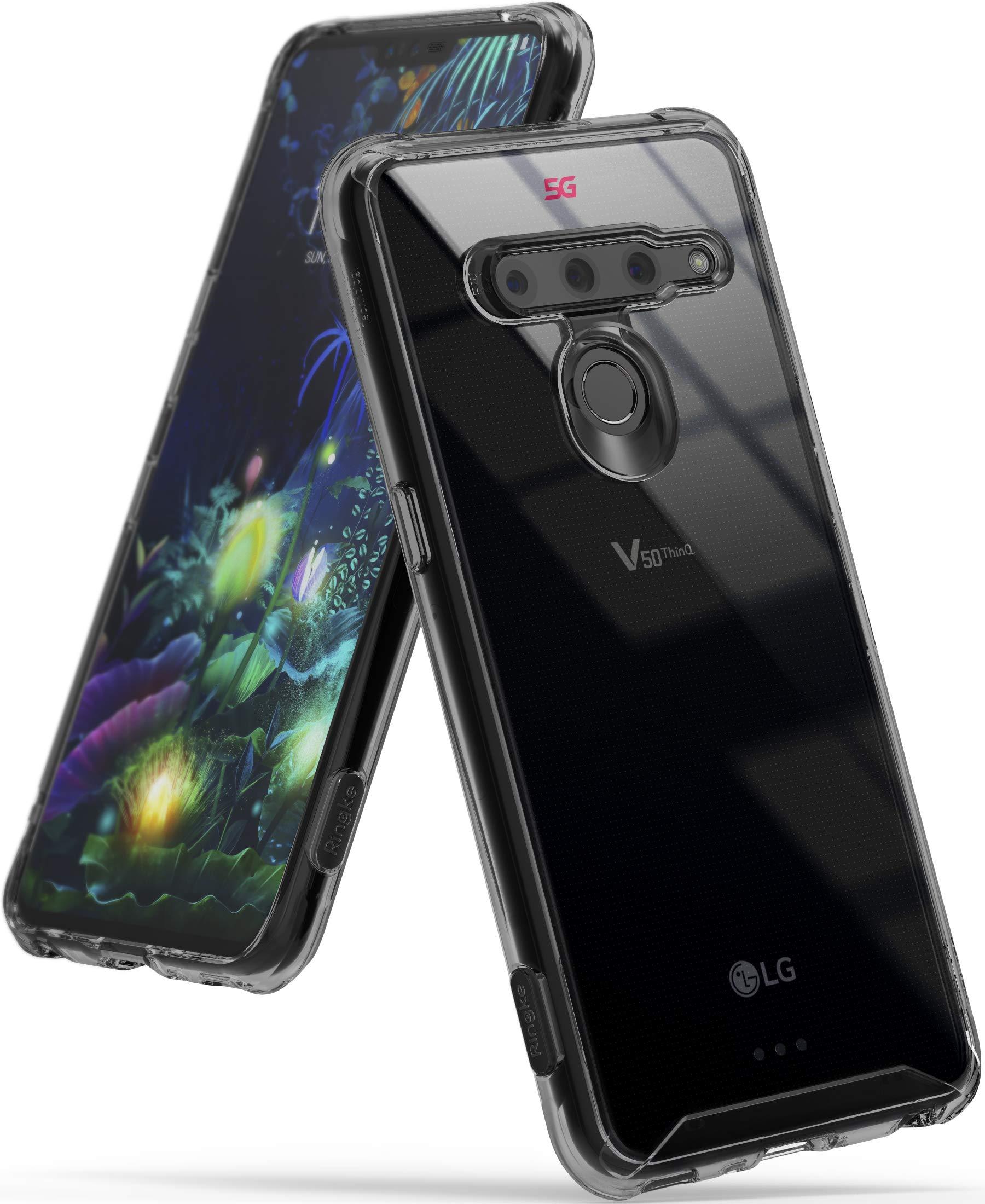 eb5e81064b5 Comprar LG V50 ThinQ 5G Funda, 360 Rotating - Humo Negro en TODO ...
