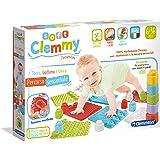 Clementoni- Soft Clemmy-Percorso sensoriale, Tocca, Gattona, Gioca-Tappeto per Bambini 6 Mesi+, Made in Italy, Multicolore, 1
