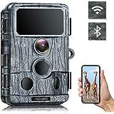TOGUARD 4K WiFi Trail Camera 30 MP Bluetooth Jaktkamera med IR-lysdioder Nattseende Spelkamera 120° Detektion Rörelseaktivera