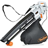 VonHaus 3 in 1 Leaf Blower - 3000W Garden Vacuum & Mulcher - 35 Litre Collection Bag, 10:1 Shredding Ratio, Automatic…
