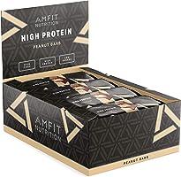 Marchio Amazon- Amfit Nutrition Barretta proteica al gusto di arachidi, confezione da 12 (12x60g)