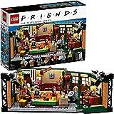 LEGO 21319 Ideas Central Perk avec Iconic Cafe Studio et 7 Figurines de Collection du 25e Anniversaire, Cadeau Friends Série