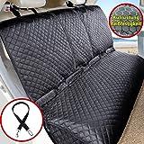 Vailge Couverture arrière imperméable pour Chien et Chien avec Ceinture de sécurité antidérapante, Protection latérale pour V