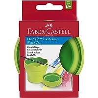 Faber-Castell 181570 - Wasserbecher CLIC & GO, hellgrün