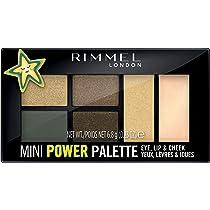 Rimmel London, Mini Power Eyeshadow Palette, 05 Boss Babe, 7 g